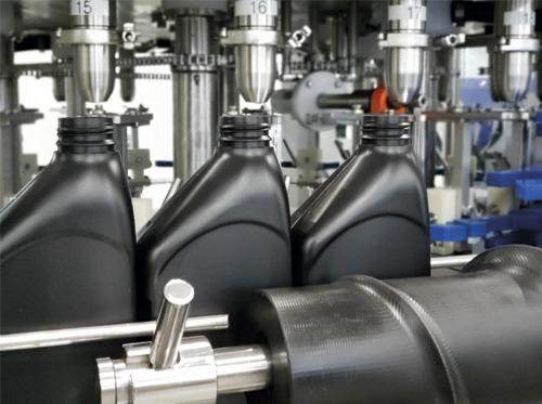 Maquinas de llenado aceites industria